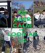 KEEP CALM AND LOOK AT US - Personalised Poster A4 size