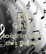 KEEP CALM AND look in side this paper - Personalised Poster A4 size