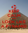 KEEP CALM AND LOOK LIKE A PYRAMID - Personalised Poster A4 size