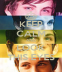 KEEP CALM AND LOOK THIS EYES - Personalised Poster A4 size