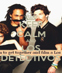 KEEP CALM AND LOS DETECTIVOS - Personalised Poster A4 size