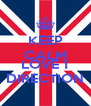 KEEP CALM AND LOVE 1  DIRECTION  - Personalised Poster A4 size