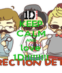 KEEP CALM AND love 1D!!!!!!!!! - Personalised Poster A4 size