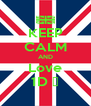 KEEP CALM AND Love 1D ❤ - Personalised Poster A4 size