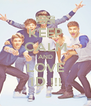 KEEP CALM AND LOVE 1D !!! - Personalised Poster A4 size