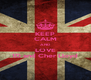 KEEP CALM AND LOVE 1D and Cher Lloyd - Personalised Poster A4 size