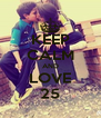 KEEP CALM AND LOVE 25 - Personalised Poster A4 size