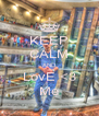 KEEP CALM AND LovE <3 Me - Personalised Poster A4 size
