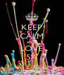 KEEP CALM AND LOVE 5A - Personalised Poster A4 size