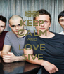 KEEP CALM AND LOVE 5IVE - Personalised Poster A4 size