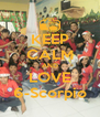 KEEP CALM AND LOVE 6-Scorpio - Personalised Poster A4 size