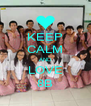 KEEP CALM AND LOVE 8B - Personalised Poster A4 size