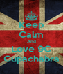 Keep Calm And Love 9C Cupachabra - Personalised Poster A4 size