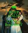KEEP CALM AND LOVE A BAD BOY - Personalised Poster A4 size