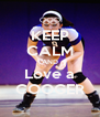 KEEP CALM AND Love a COOGER - Personalised Poster A4 size