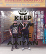 KEEP CALM AND LOVE  AAIYAN - Personalised Poster A4 size