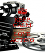 KEEP CALM AND LOVE ACTING - Personalised Poster A4 size