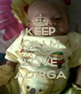 KEEP CALM AND LOVE ADIRGA - Personalised Poster A4 size