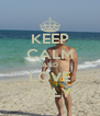 KEEP CALM AND LOVE ADLY - Personalised Poster A4 size