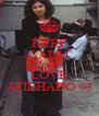 KEEP CALM AND LOVE AFILHADO <3 - Personalised Poster A4 size