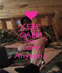 KEEP CALM AND Love Ahyanna - Personalised Poster A4 size