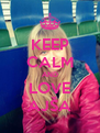 KEEP CALM AND LOVE AJŠA - Personalised Poster A4 size