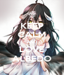 KEEP CALM AND LOVE ALBEDO - Personalised Poster A4 size
