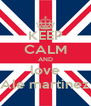 KEEP CALM AND love Ale martinez - Personalised Poster A4 size