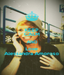 KEEP CALM AND Love Alessandra Amoroso - Personalised Poster A4 size