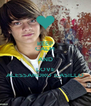 KEEP CALM AND LOVE ALESSANDRO CASILLO - Personalised Poster A4 size
