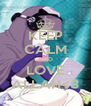 KEEP CALM AND LOVE ALLAH<3 - Personalised Poster A4 size