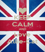 KEEP CALM AND Love Allie-Cat - Personalised Poster A4 size
