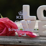 KEEP CALM AND love $alma <3 - Personalised Poster A4 size