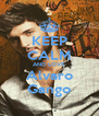 KEEP CALM AND LOVE Alvaro Gango - Personalised Poster A4 size