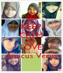 KEEP CALM AND LOVE Amicus Verus - Personalised Poster A4 size