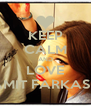 KEEP CALM AND LOVE AMIT FARKASH - Personalised Poster A4 size