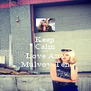Keep Calm And Love Ana Mulvoy-Ten - Personalised Poster A4 size