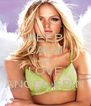 KEEP CALM AND LOVE ANGEL ERIN - Personalised Poster A4 size