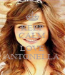 KEEP CALM AND LOVE ANTONELLA - Personalised Poster A4 size
