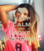KEEP CALM AND LOVE ANTONIA - Personalised Poster A4 size