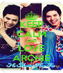 KEEP CALM AND LOVE ARCHIE - Personalised Poster A4 size