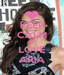 KEEP CALM AND LOVE ARIA - Personalised Poster A4 size
