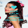 KEEP CALM AND Love ARIANA GRANDE !!!!!!!! - Personalised Poster A4 size