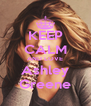 KEEP CALM AND LOVE Ashley Greene - Personalised Poster A4 size