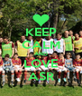 KEEP CALM AND LOVE ASR - Personalised Poster A4 size