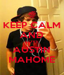 KEEP CALM AND LOVE AUSTIN MAHOME - Personalised Poster A4 size