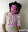 KEEP CALM AND LOVE AVAN! - Personalised Poster A4 size