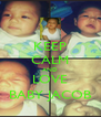KEEP CALM AND LOVE BABY JACOB - Personalised Poster A4 size