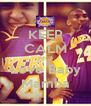 KEEP CALM AND Love Baby Mamba - Personalised Poster A4 size