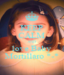 KEEP CALM AND love Baby Mortillaro *-* - Personalised Poster A4 size